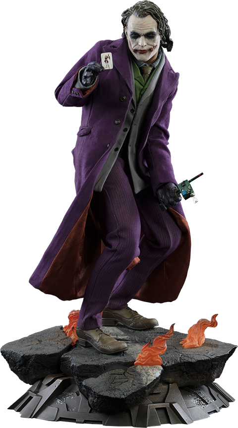Sideshow Collectibles The Joker The Dark Knight Premium Format Figure