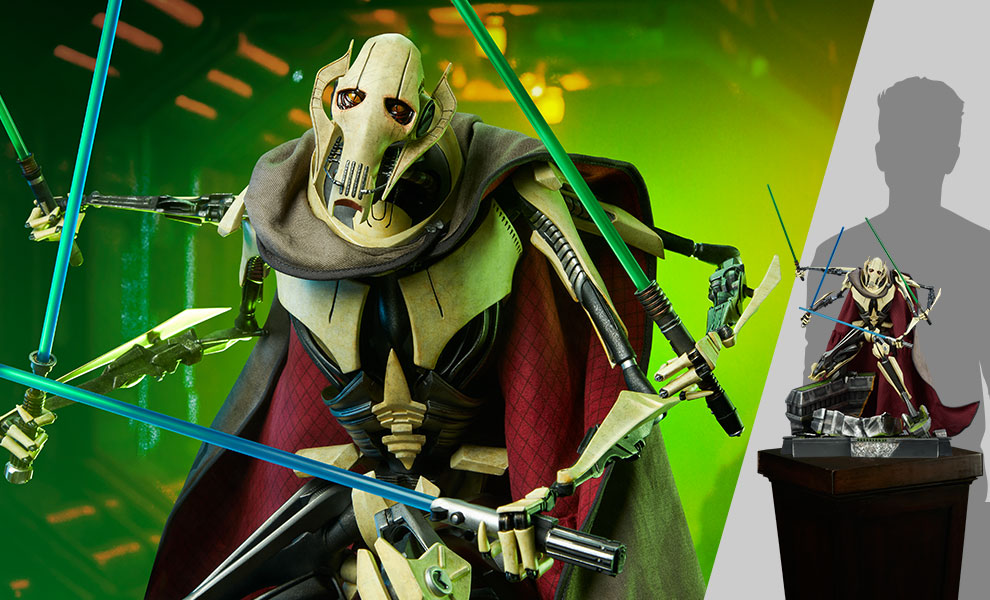 Gallery Feature Image of General Grievous Premium Format™ Figure - Click to open image gallery