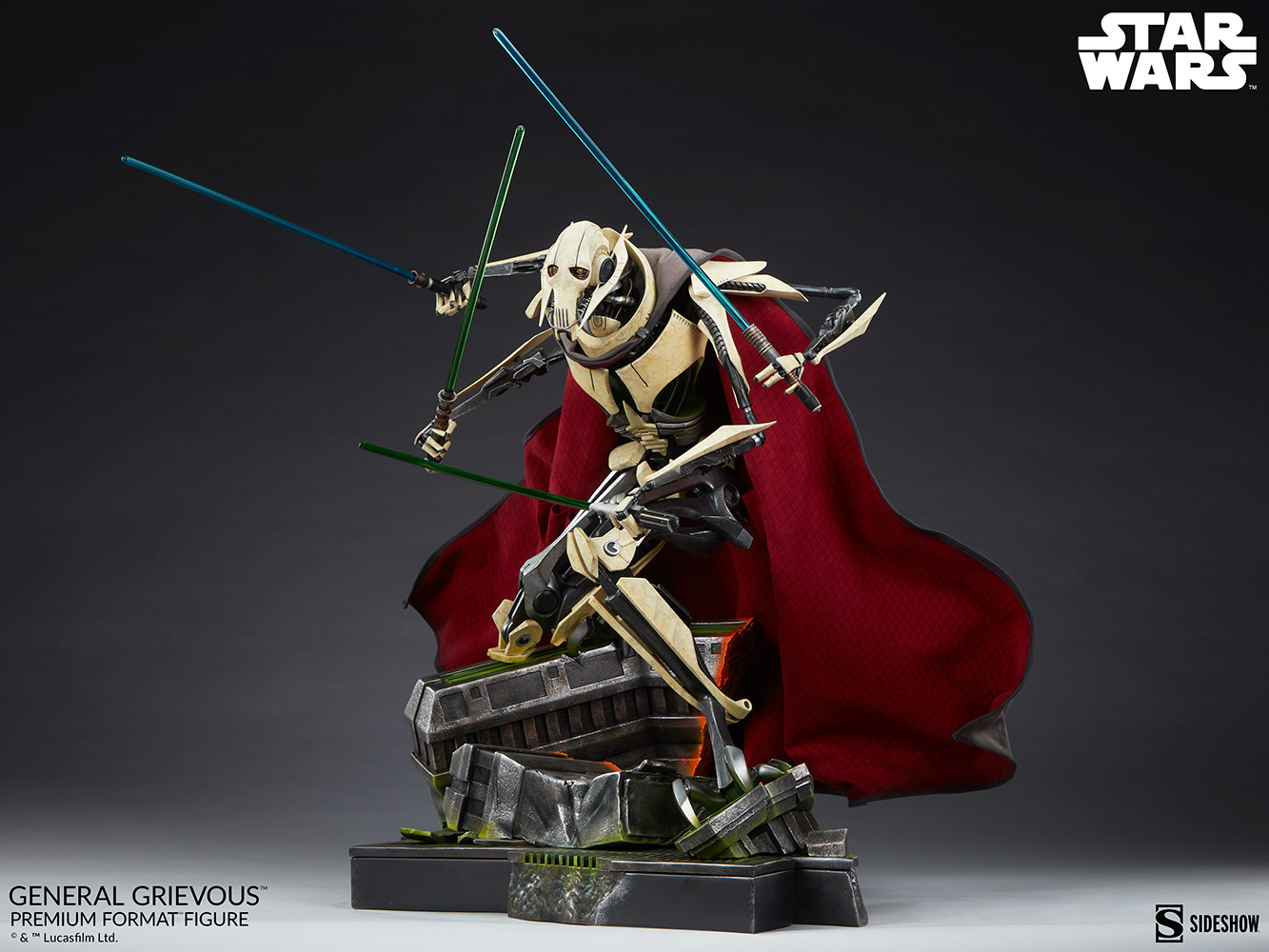 Star Wars: Revenge of the Sith : General Grievous Premium Format Figure General-grievous_star-wars_gallery_6155e6605df1e