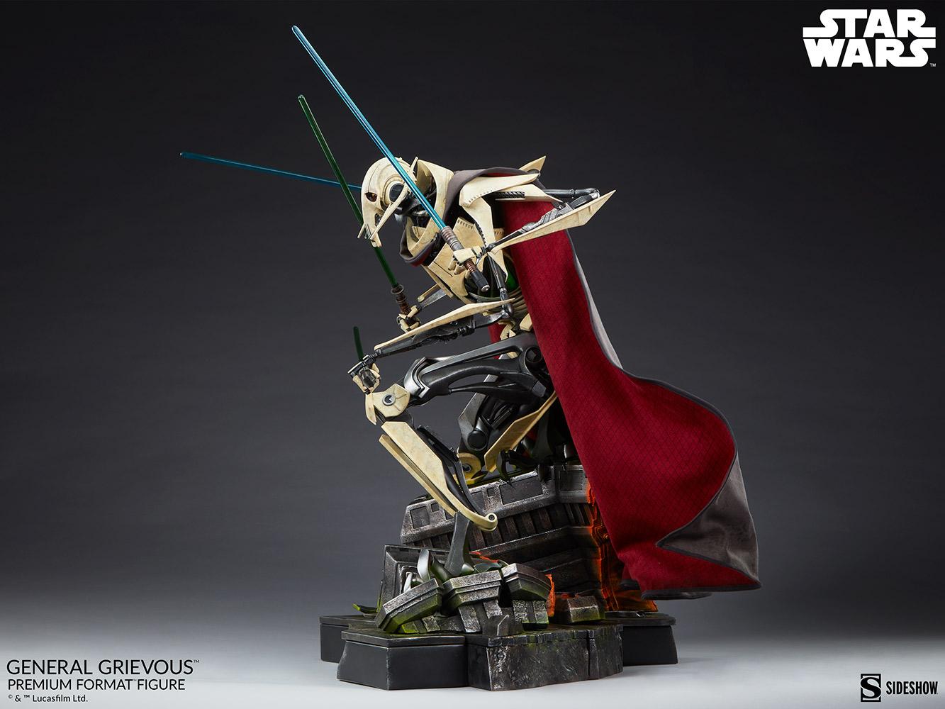 Star Wars: Revenge of the Sith : General Grievous Premium Format Figure General-grievous_star-wars_gallery_6155e660b6e7b