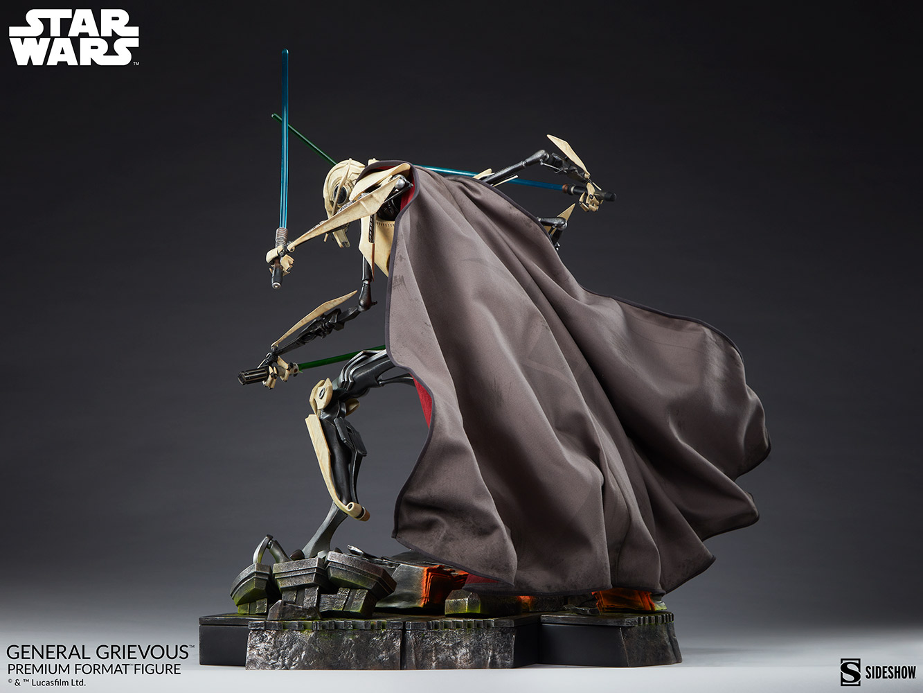 Star Wars: Revenge of the Sith : General Grievous Premium Format Figure General-grievous_star-wars_gallery_6155e6611810d