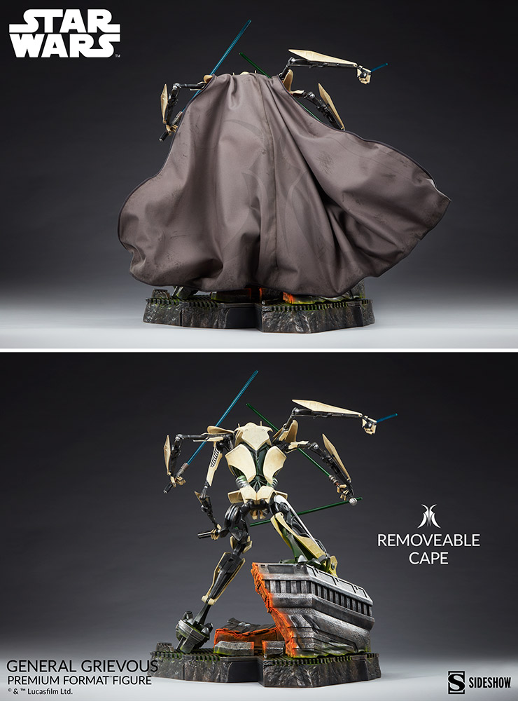 Star Wars: Revenge of the Sith : General Grievous Premium Format Figure General-grievous_star-wars_gallery_6155e66177d63