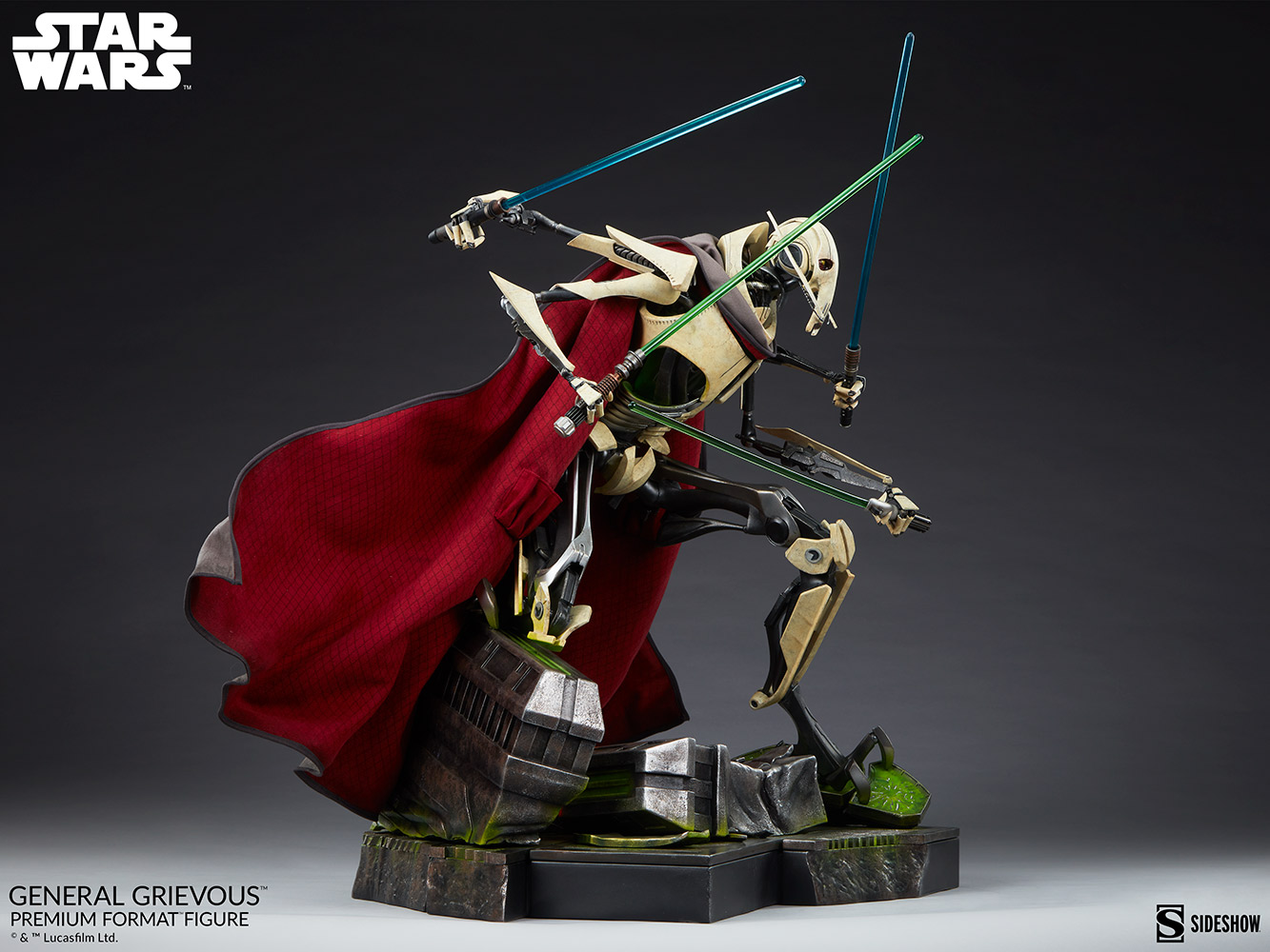 Star Wars: Revenge of the Sith : General Grievous Premium Format Figure General-grievous_star-wars_gallery_6155e661d72b9