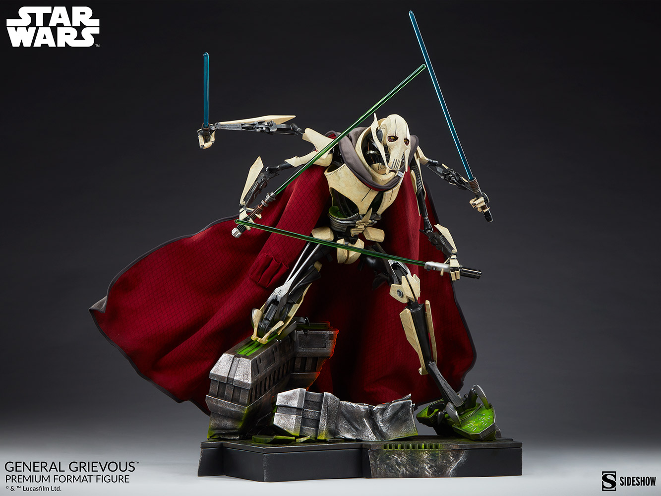 Star Wars: Revenge of the Sith : General Grievous Premium Format Figure General-grievous_star-wars_gallery_6155e6623f0c5