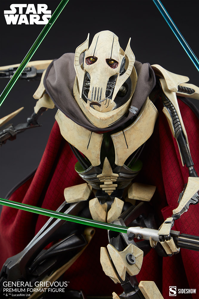 Star Wars: Revenge of the Sith : General Grievous Premium Format Figure General-grievous_star-wars_gallery_6155e66296f84