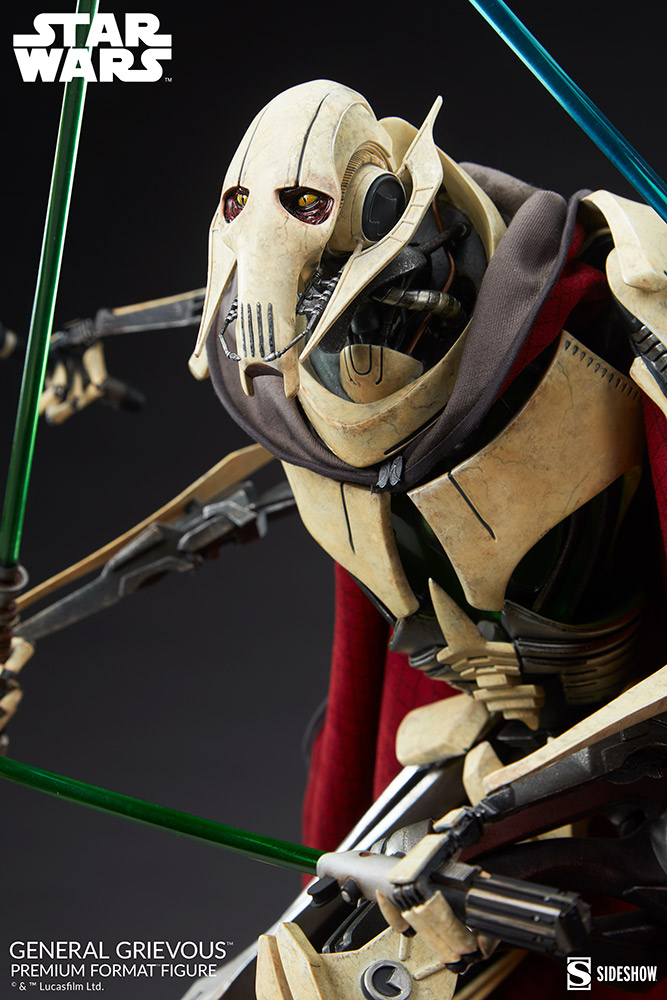 Star Wars: Revenge of the Sith : General Grievous Premium Format Figure General-grievous_star-wars_gallery_6155e662f3023