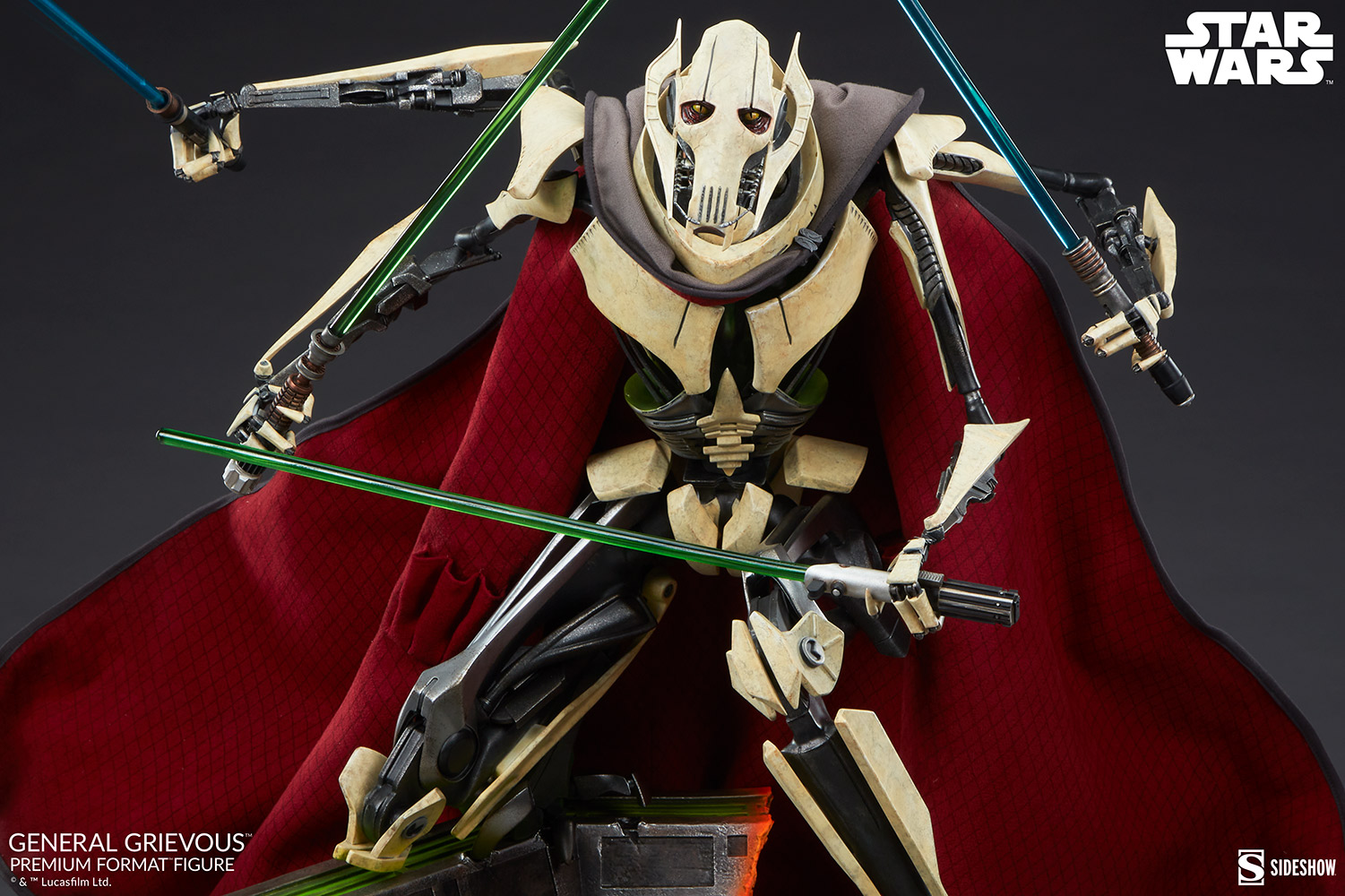 Star Wars: Revenge of the Sith : General Grievous Premium Format Figure General-grievous_star-wars_gallery_6155e68414d67