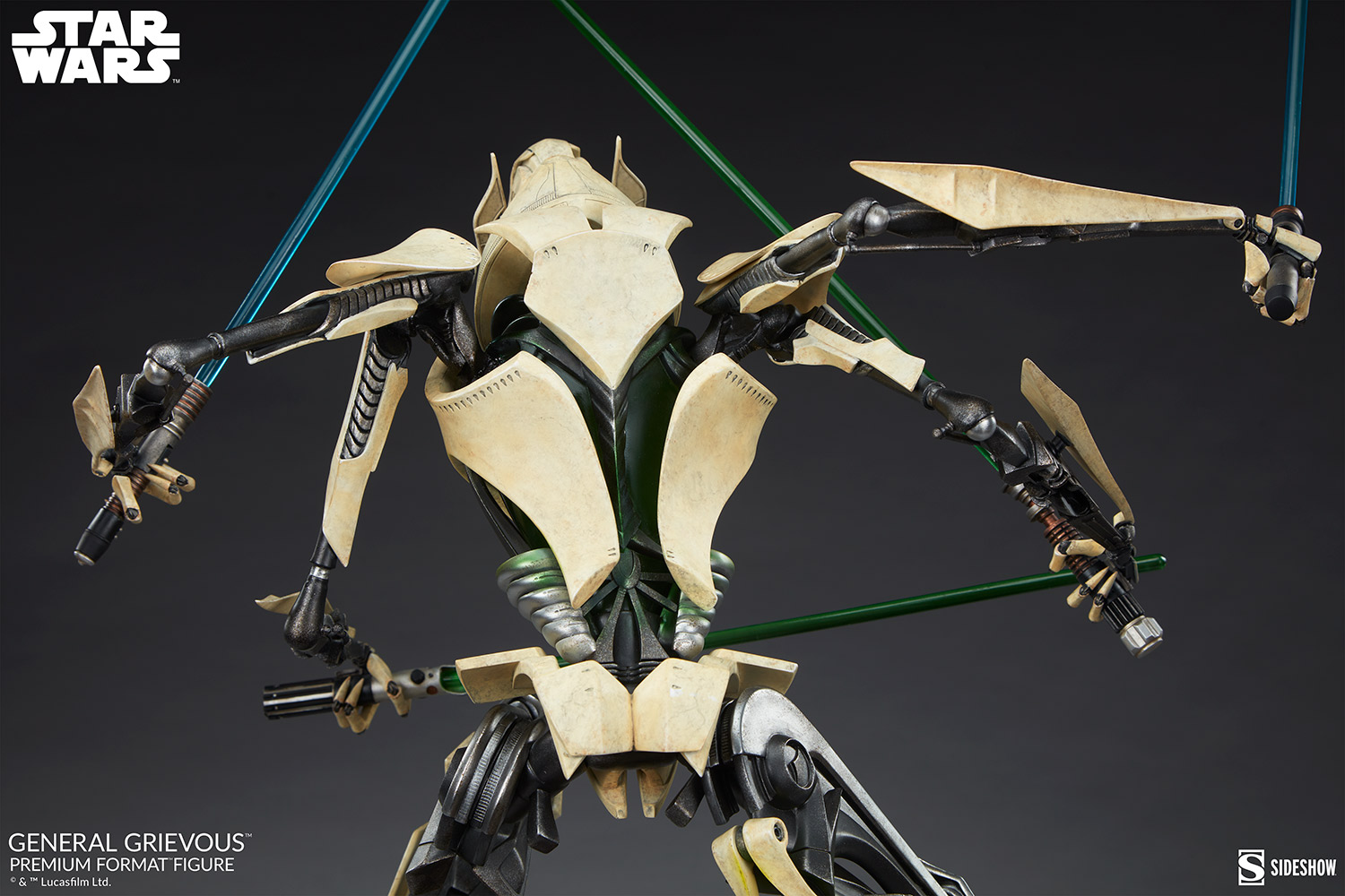 Star Wars: Revenge of the Sith : General Grievous Premium Format Figure General-grievous_star-wars_gallery_6155e6847fa98