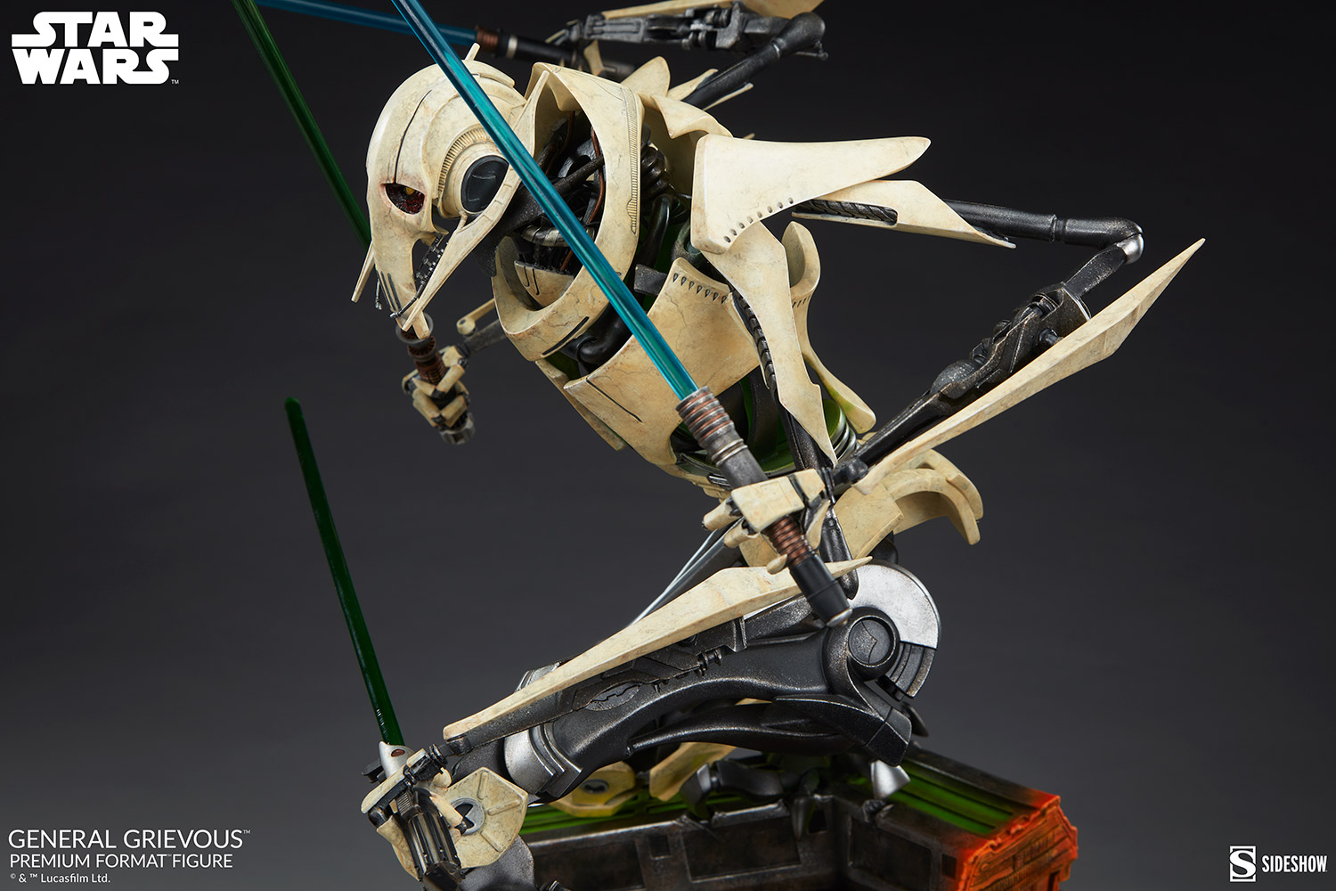 Star Wars: Revenge of the Sith : General Grievous Premium Format Figure General-grievous_star-wars_gallery_6155e6855b2c8