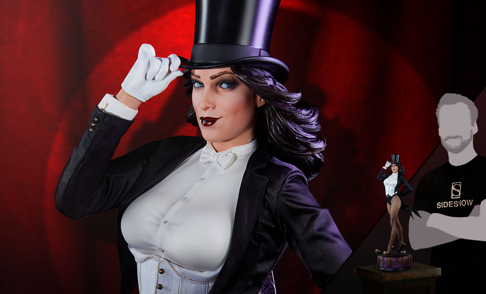 Gallery Feature Image of Zatanna Premium Format™ Figure - Click to open image gallery