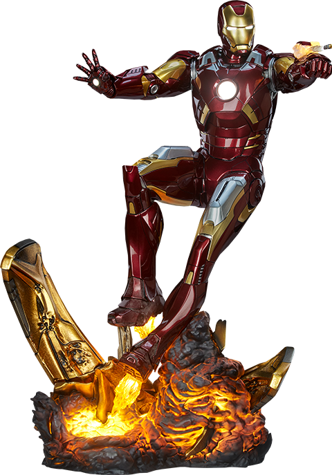 Sideshow Collectibles Iron Man Mark VII Maquette