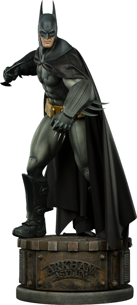 Sideshow Collectibles Batman Arkham Asylum Premium Format Figure
