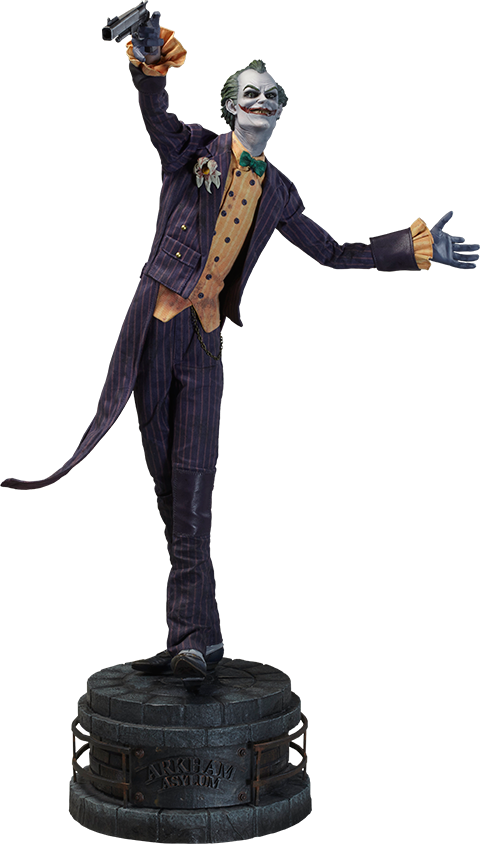 Sideshow Collectibles Joker Arkham Asylum Premium Format Figure
