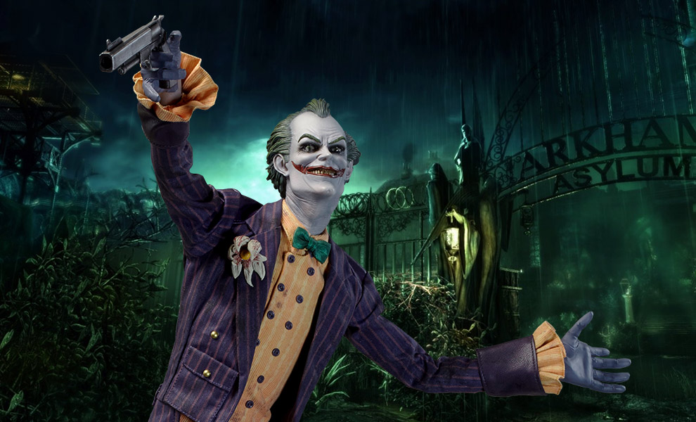 Gallery Feature Image of Joker Arkham Asylum Premium Format™ Figure - Click to open image gallery