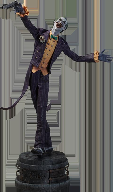 Sideshow Collectibles Joker Arkham Asylum Premium Format™ Figure