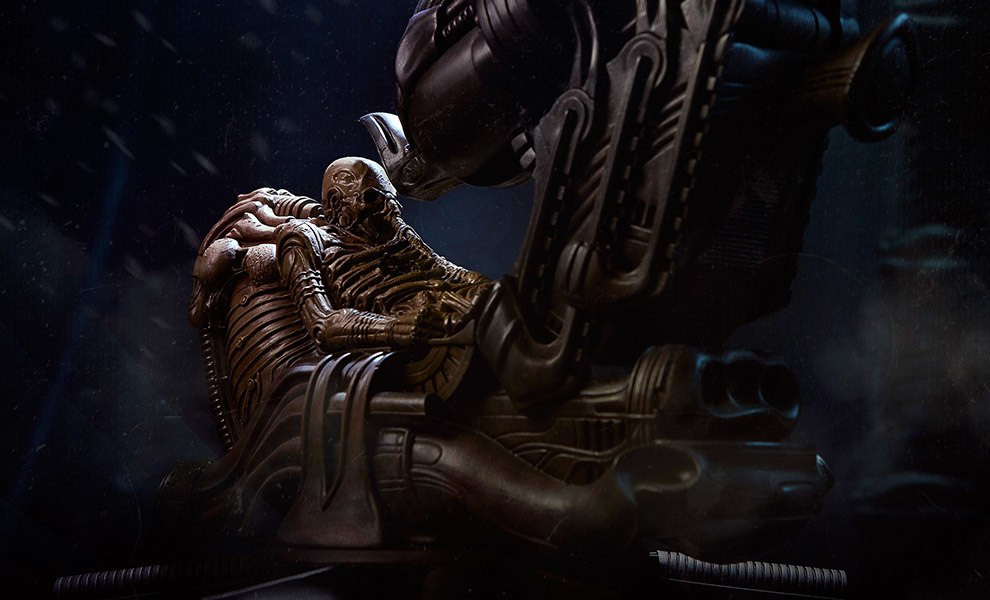 Gallery Feature Image of Space Jockey Maquette - Click to open image gallery