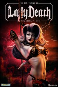 Gallery Image of The Temptation of Lady Death Premium Format™ Figure