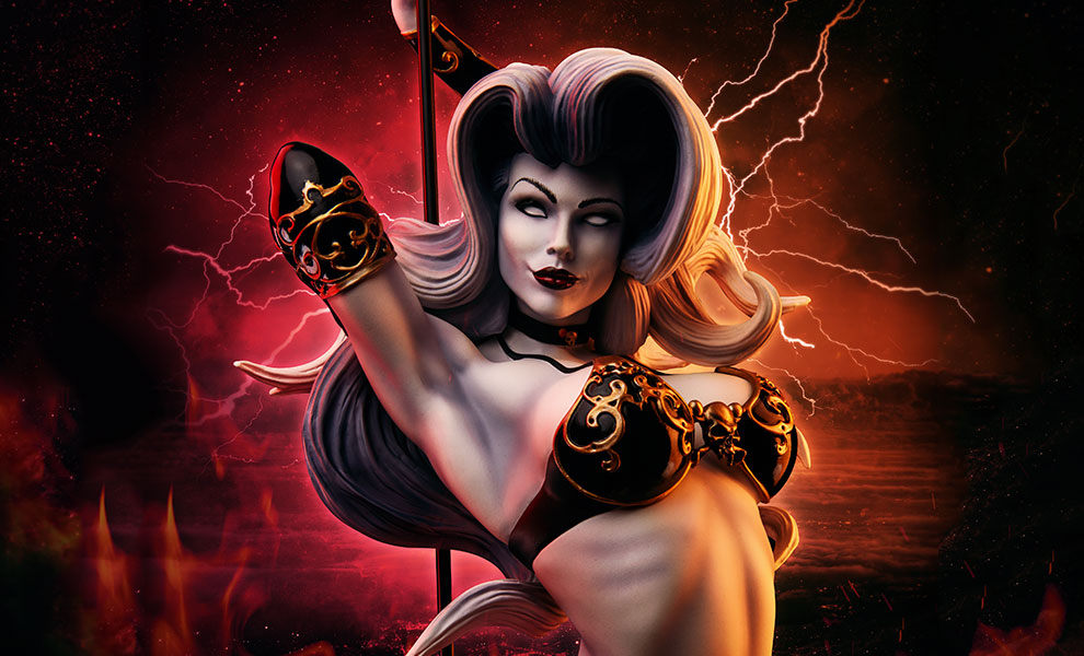 Gallery Feature Image of The Temptation of Lady Death Premium Format™ Figure - Click to open image gallery