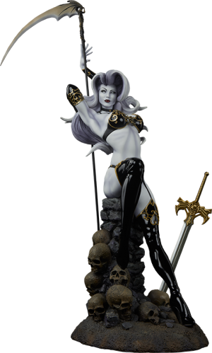 The Temptation of Lady Death Premium Format Figure
