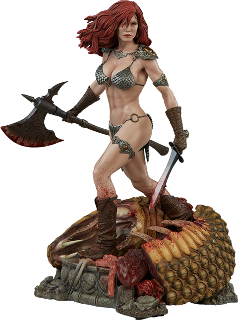 Sideshow Collectibles Red Sonja She-Devil with a Sword Premium Format Figure