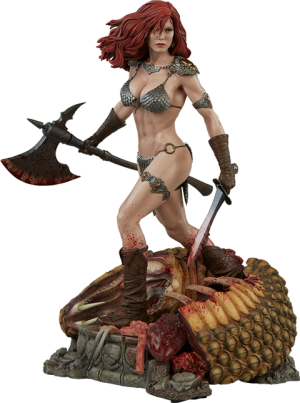 Red Sonja She-Devil with a Sword Premium Format Figure