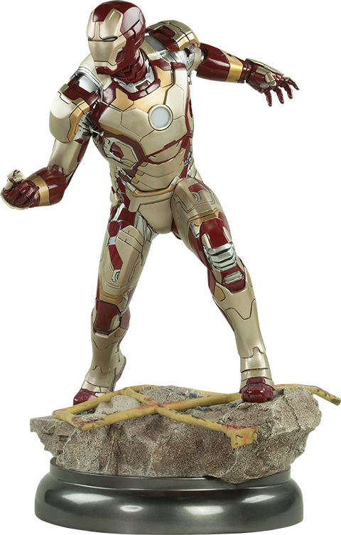 Sideshow Collectibles Iron Man Mark 42 Quarter Scale Maquette