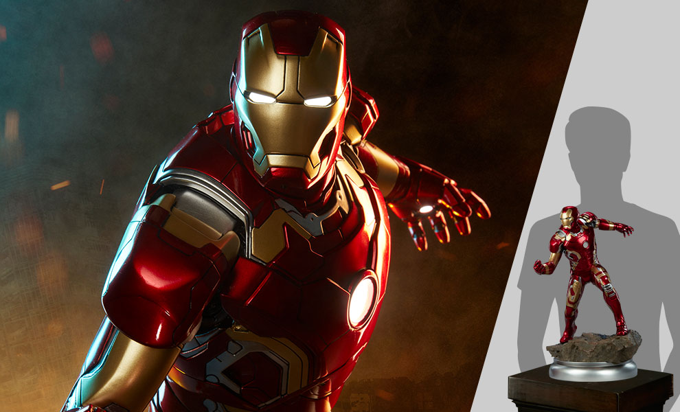 Gallery Feature Image of Iron Man Mark XLIII Maquette - Click to open image gallery