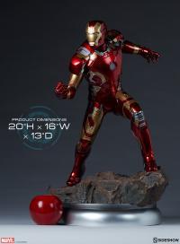 Gallery Image of Iron Man Mark XLIII Maquette