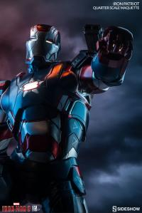 Gallery Image of Iron Patriot Quarter Scale Maquette
