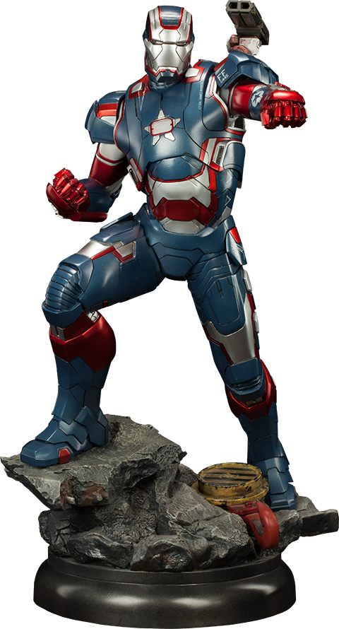 Sideshow Collectibles Iron Patriot Quarter Scale Maquette
