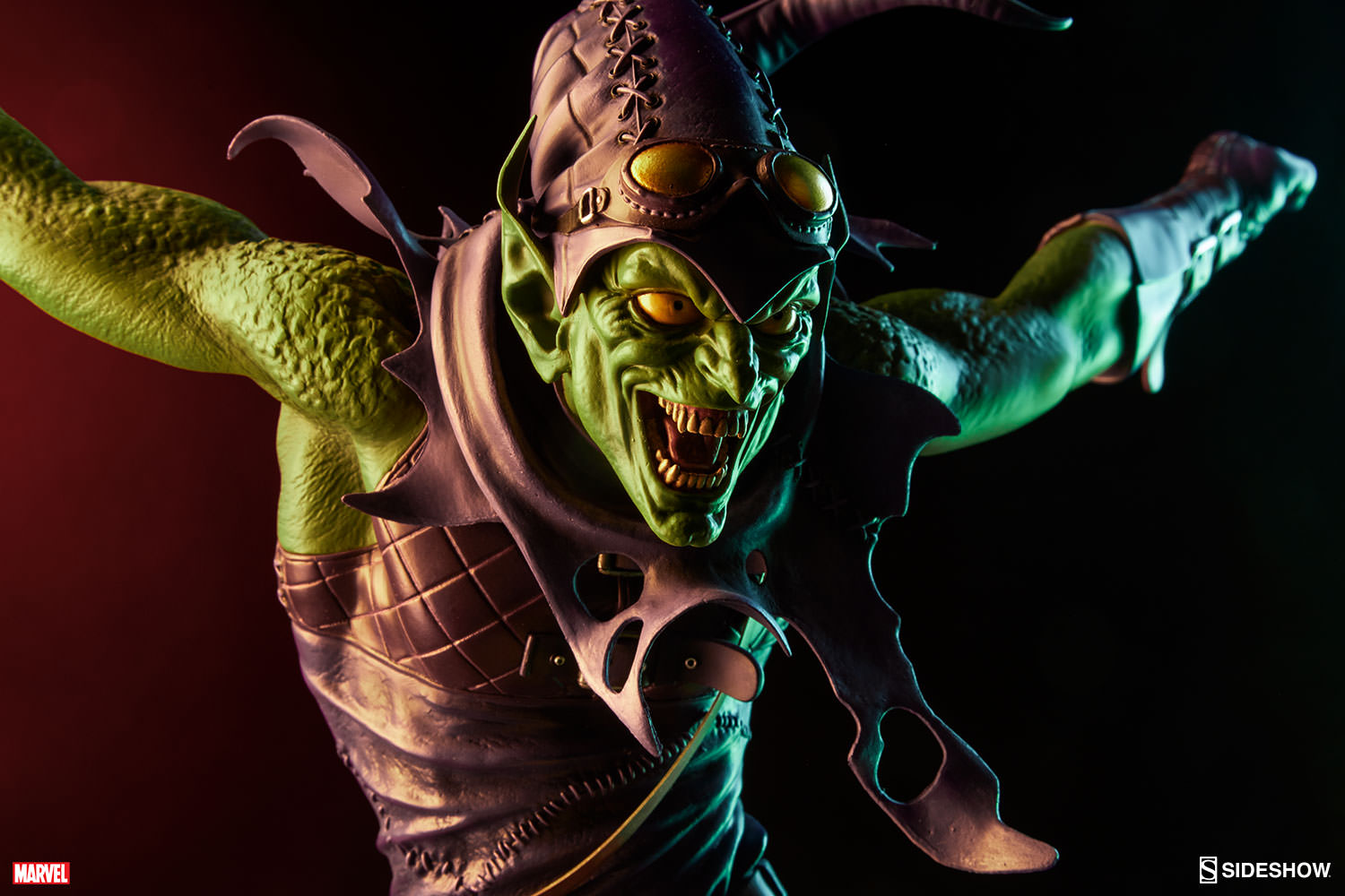 Hjc Fg 17 >> Marvel Green Goblin Premium Format(TM) Figure by Sideshow Co | Sideshow Collectibles