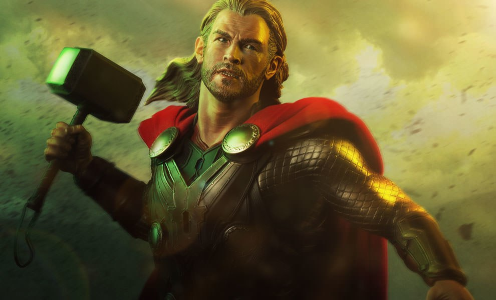 Gallery Feature Image of Thor The Dark World Premium Format™ Figure - Click to open image gallery