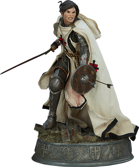Sideshow Collectibles Shard: Faith Bearer's Fury Premium Format Figure