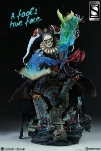 Gallery Image of Malavestros Deaths Chronicler Fool Premium Format™ Figure