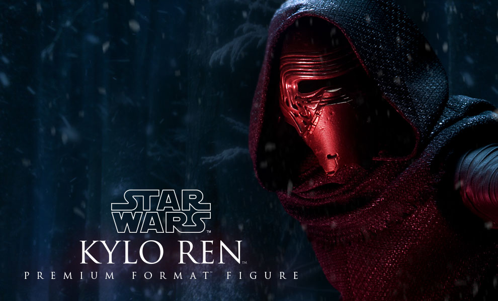 Gallery Feature Image of Kylo Ren Premium Format™ Figure - Click to open image gallery