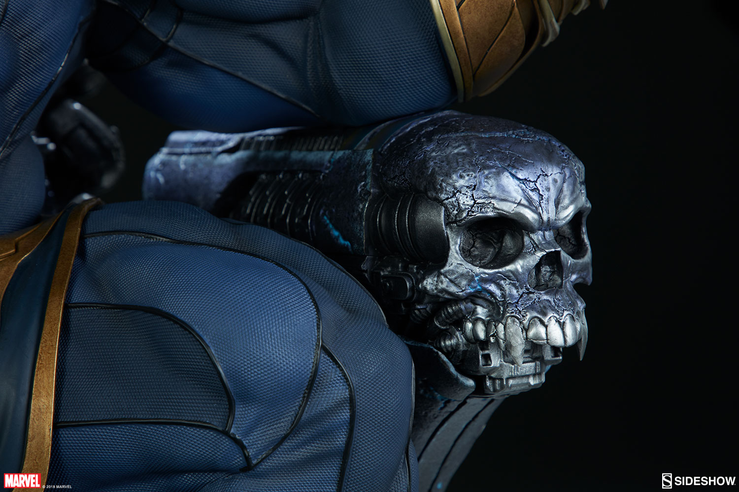 Marvel Thanos on Throne Maquette by Sideshow Collectibles