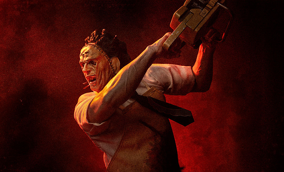 Gallery Feature Image of Leatherface Premium Format™ Figure - Click to open image gallery