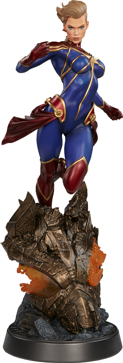 Sideshow Collectibles Captain Marvel Premium Format Figure