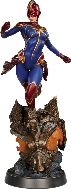 Captain Marvel Premium Format Figure