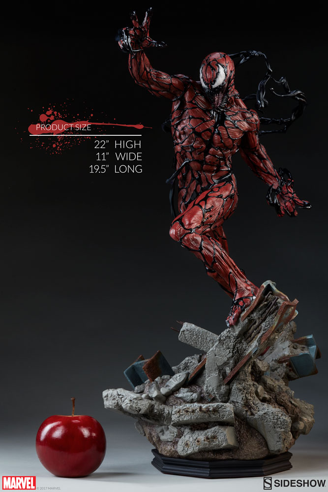 Premium Carnage Collectible Carnage Action Figure