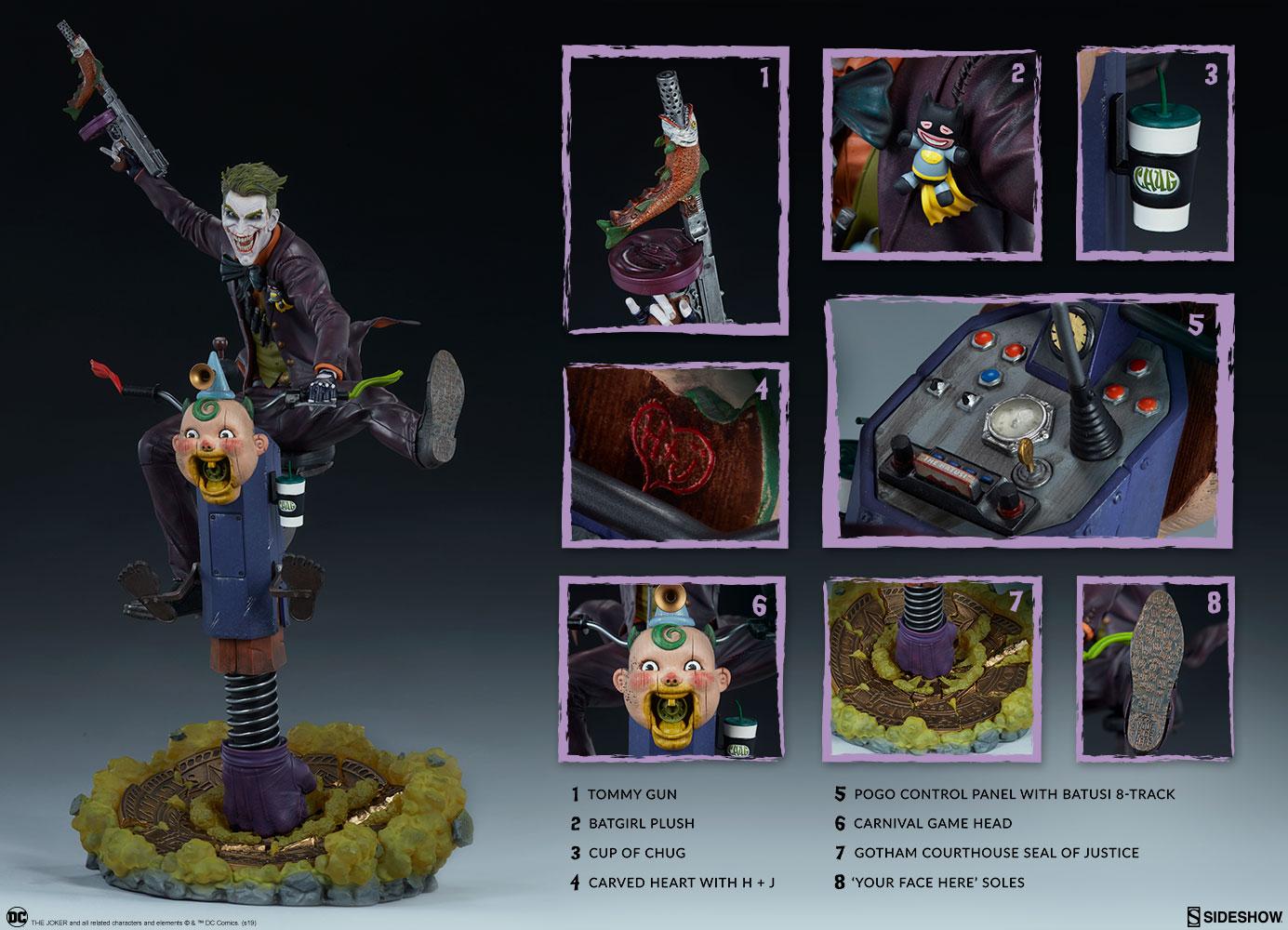 Dc Comics The Joker Premium Formattm Figure By Sideshow Co