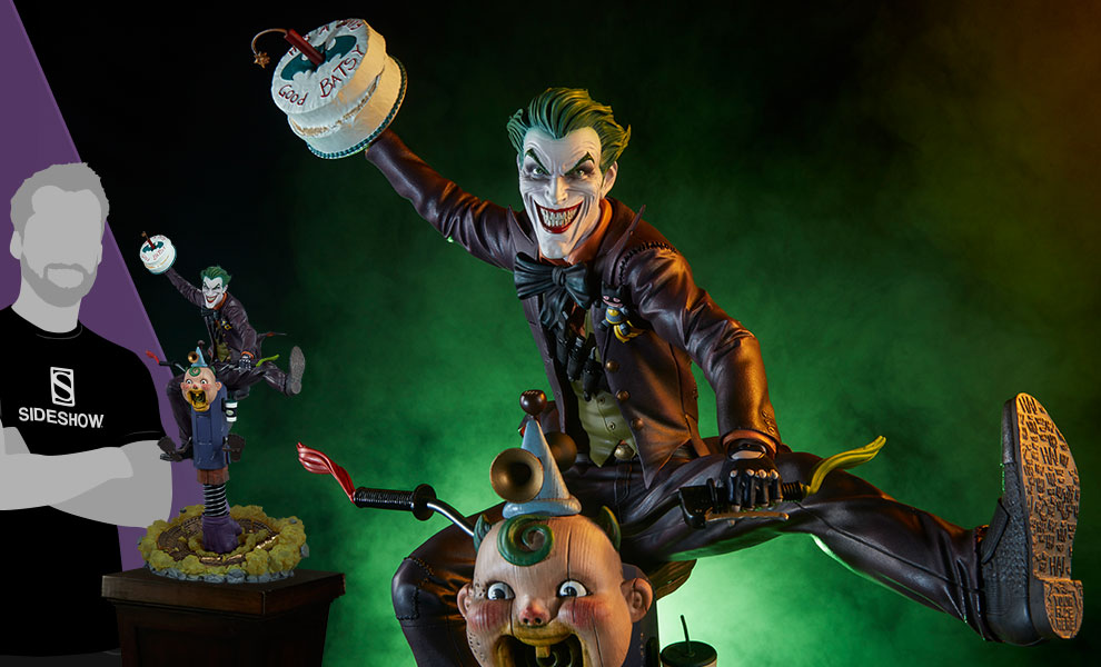 Gallery Feature Image of The Joker Premium Format™ Figure - Click to open image gallery