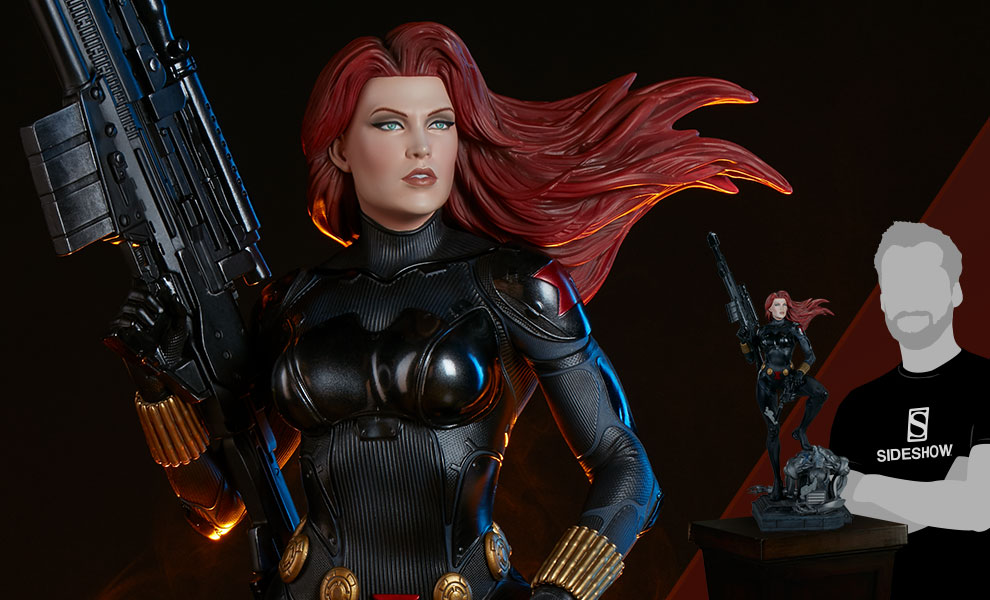 Gallery Feature Image of Black Widow Premium Format™ Figure - Click to open image gallery