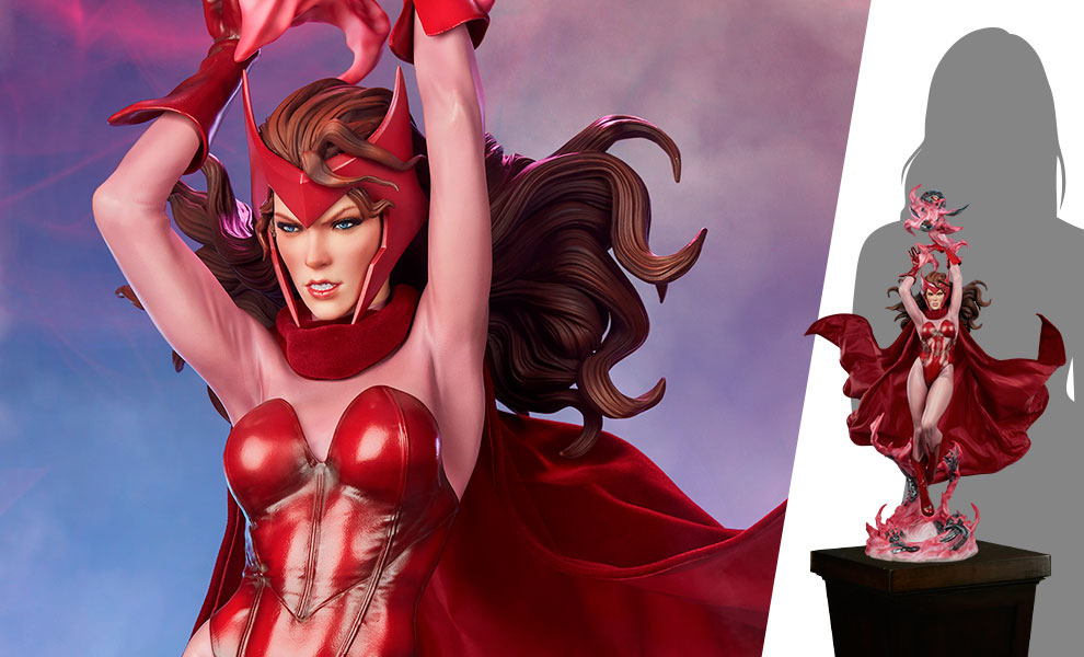 Gallery Feature Image of Scarlet Witch Premium Format™ Figure - Click to open image gallery