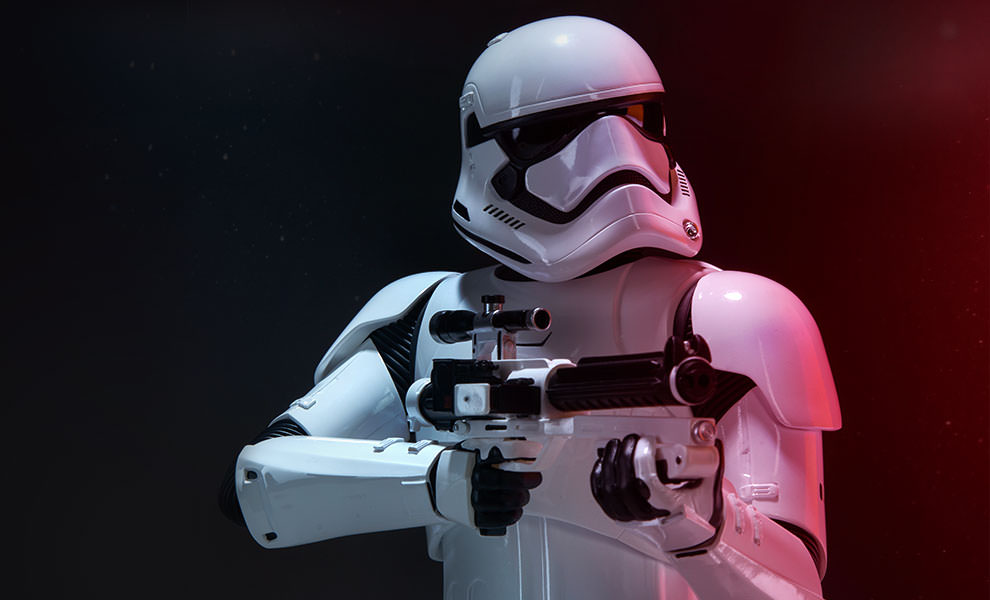 Gallery Feature Image of First Order Stormtrooper Premium Format™ Figure - Click to open image gallery