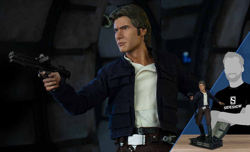 Gallery Feature Image of Han Solo Premium Format™ Figure - Click to open image gallery