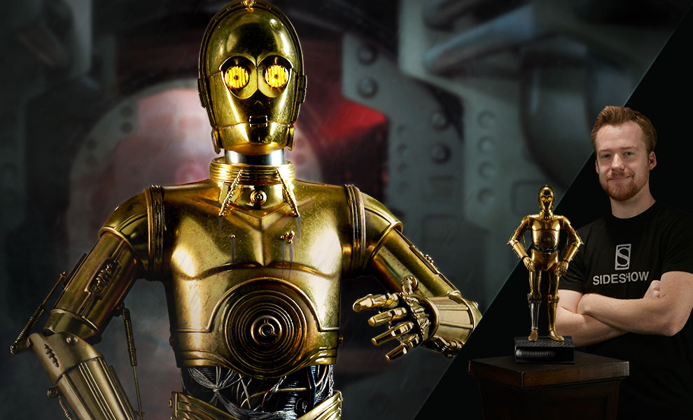 Gallery Feature Image of C-3PO Premium Format™ Figure - Click to open image gallery