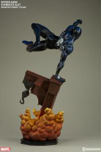 Gallery Image of Spider-Man Symbiote Costume Premium Format™ Figure