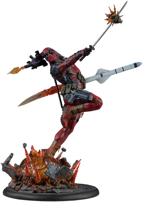 Sideshow Collectibles Deadpool Heat-Seeker Premium Format Figure