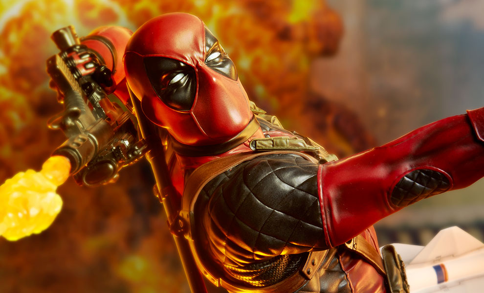 Gallery Feature Image of Deadpool Heat-Seeker Premium Format™ Figure - Click to open image gallery